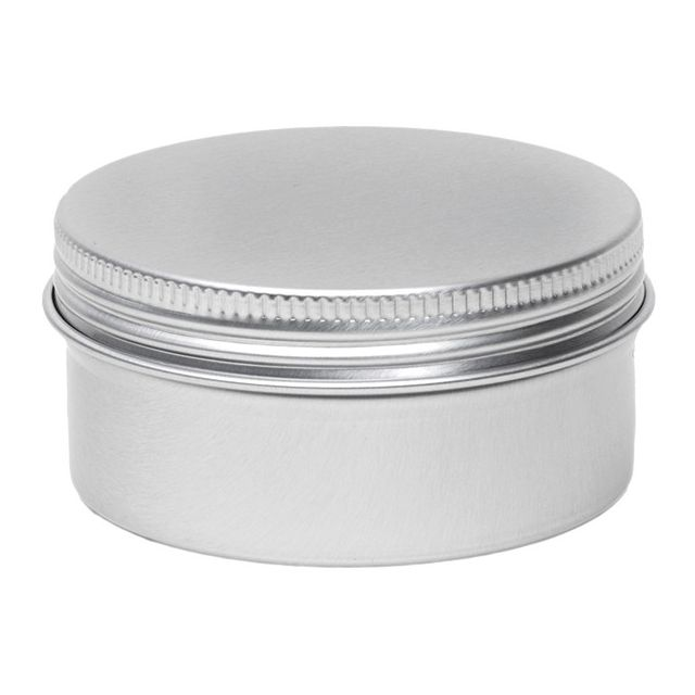 Aluminium blik rond - 80 ml