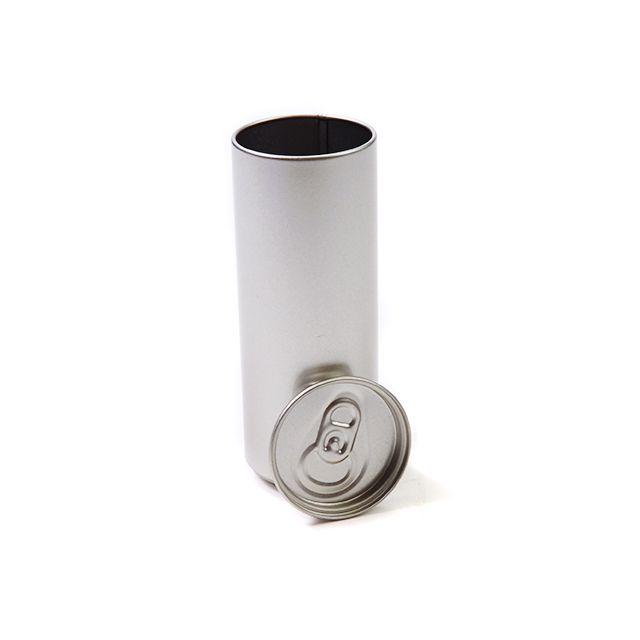 Drankblikje met los indrukdeksel – zilver
