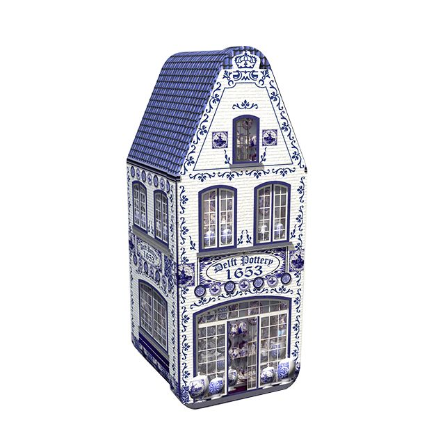 Huis blik - Delftsblauw