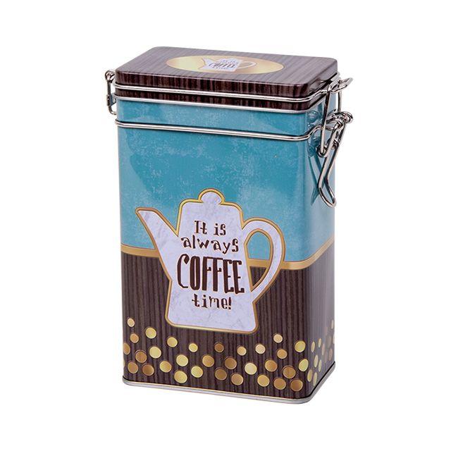 Voorraadblik met klipsluiting - Koffietijd