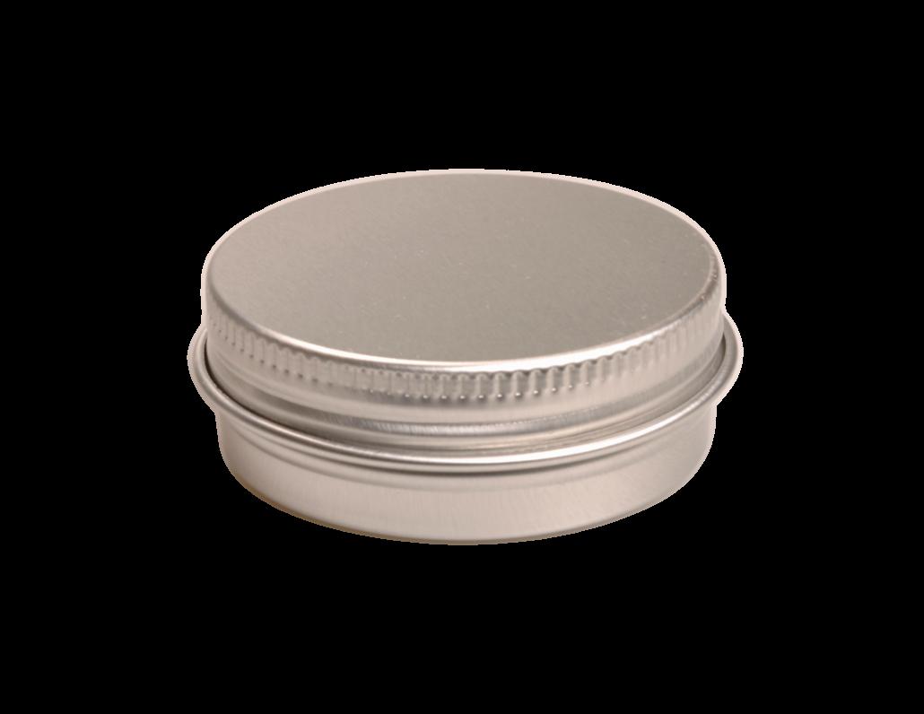 Aluminium blik rond - 10 ml