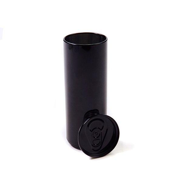 Drankblikje met los indrukdeksel – zwart