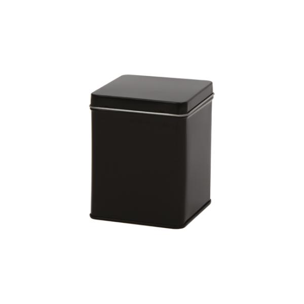Zwart blik vierkant S - 500 mL