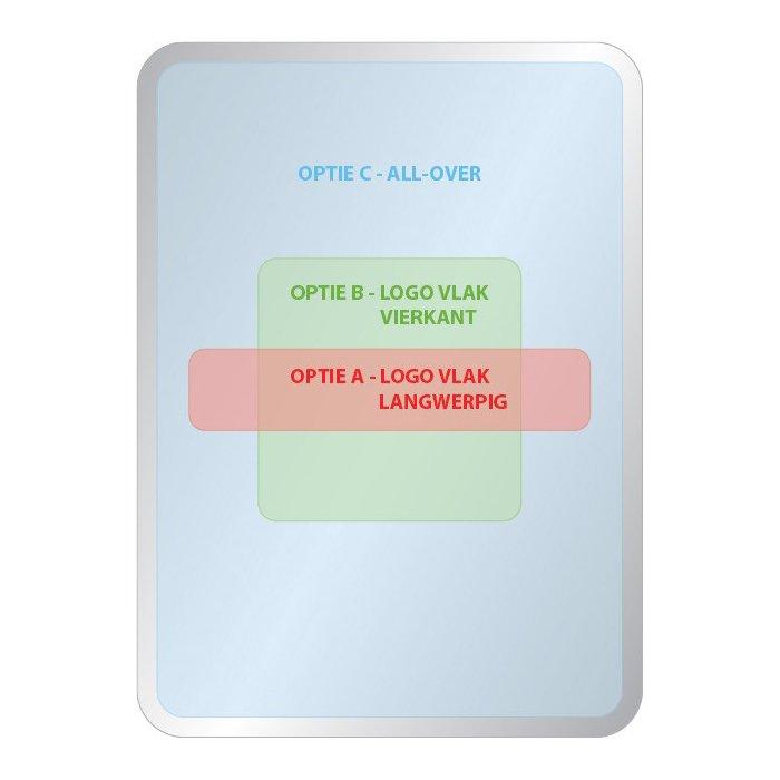 Opties dekselbedrukking rechthoekig