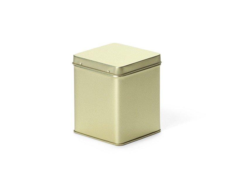 Vierkant blik 100 gram goud